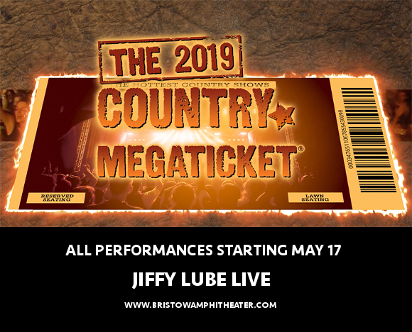 2019 Country Megaticket Tickets (Includes All Performances) at Jiffy Lube Live