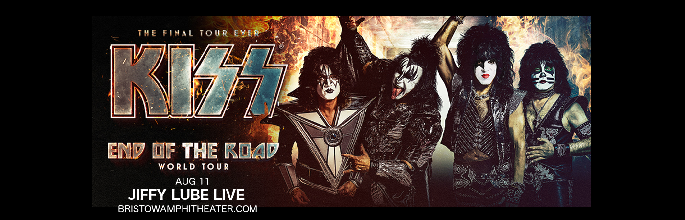 Kiss at Jiffy Lube Live