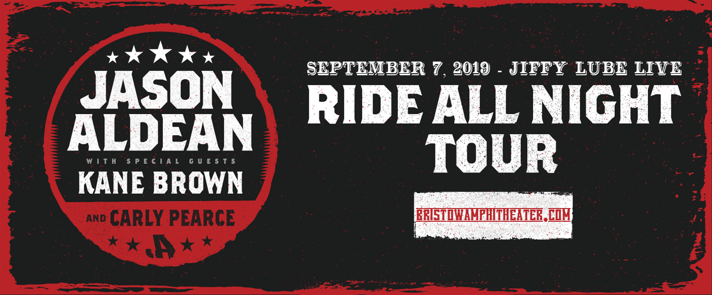 Jason Aldean & Kane Brown at Jiffy Lube Live