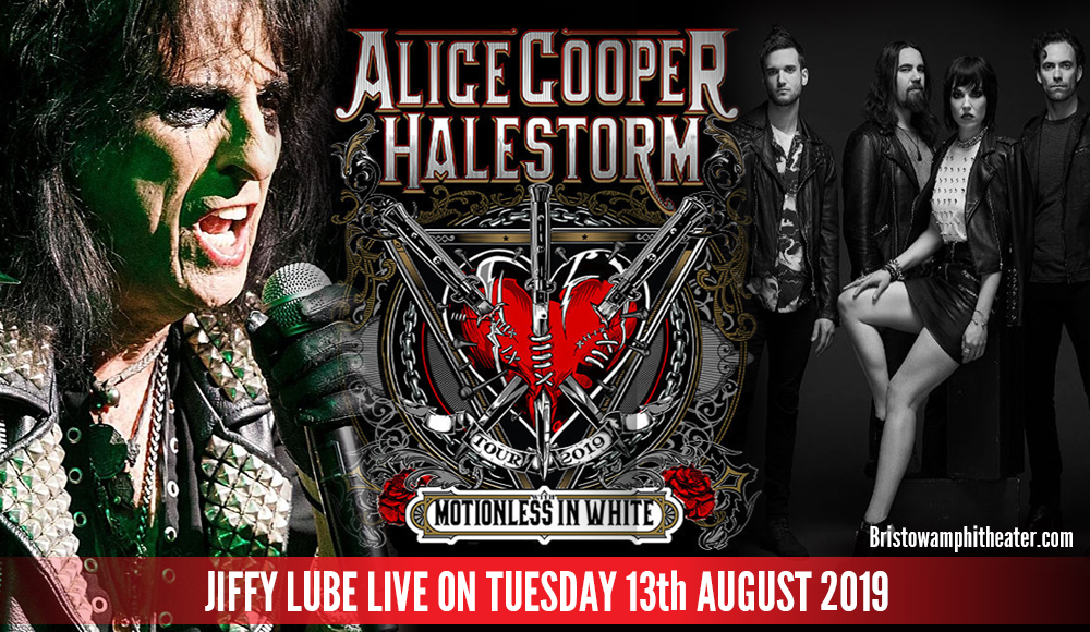 Alice Cooper & Halestorm at Jiffy Lube Live