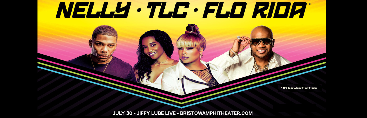 Nelly, TLC & Flo Rida at Jiffy Lube Live