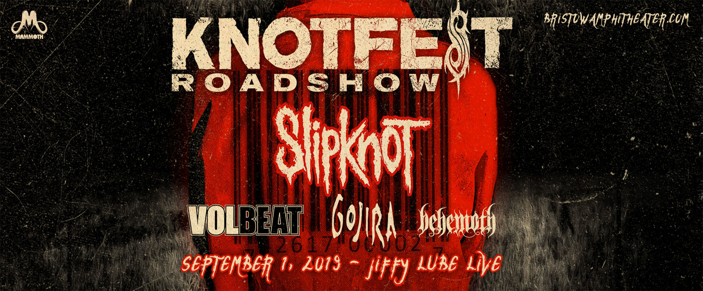 Slipknot, Volbeat, Gojira & Behemoth at Jiffy Lube Live
