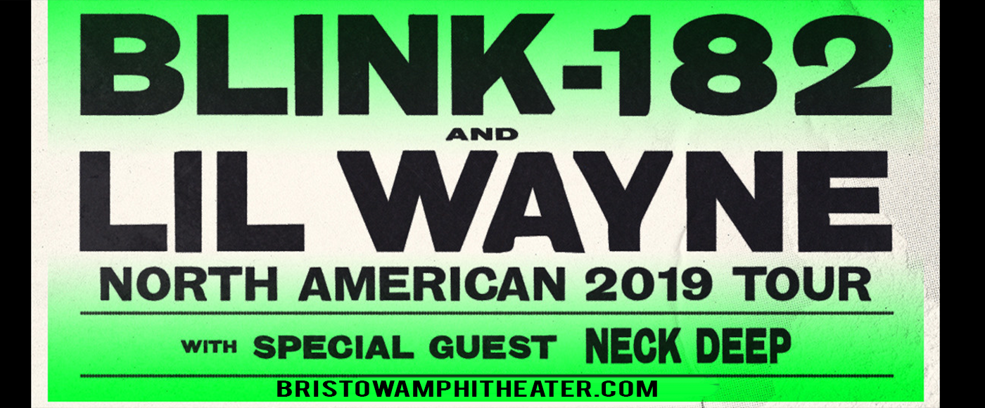 Blink 182 & Lil Wayne at Jiffy Lube Live