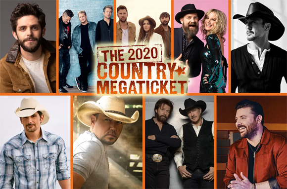Country Megaticket (Includes Tickets To All Performances) at Jiffy Lube Live