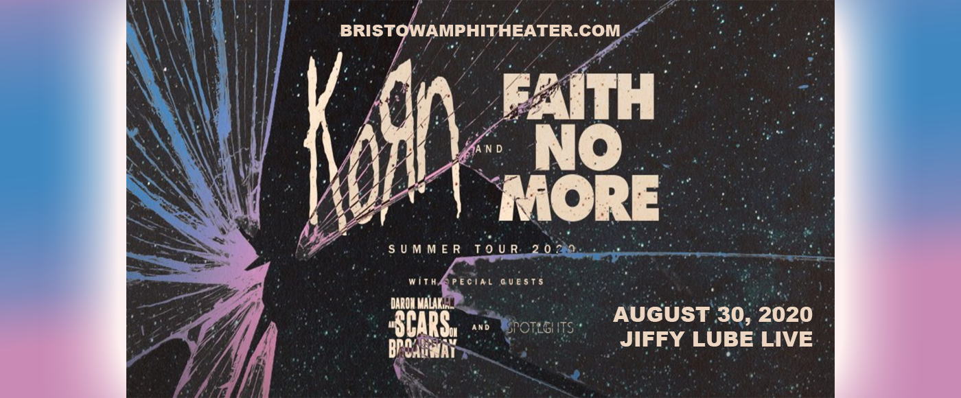Korn, Faith No More, Helmet & '68 at Jiffy Lube Live