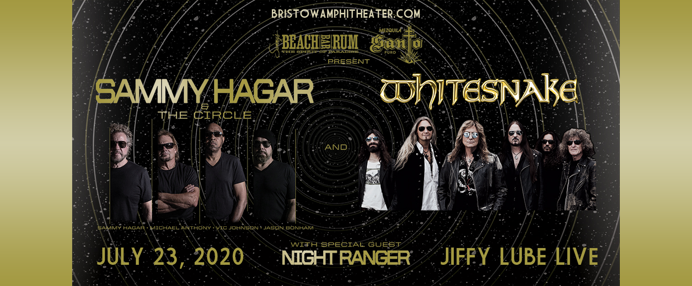 Sammy Hagar and the Circle & Whitesnake at Jiffy Lube Live