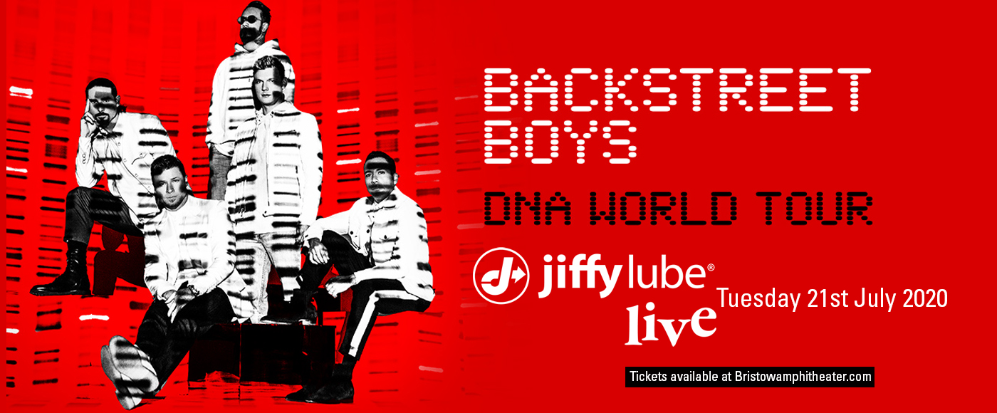 Backstreet Boys at Jiffy Lube Live