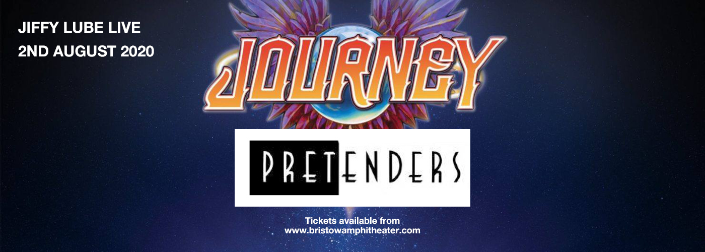 Journey & The Pretenders [CANCELLED] at Jiffy Lube Live