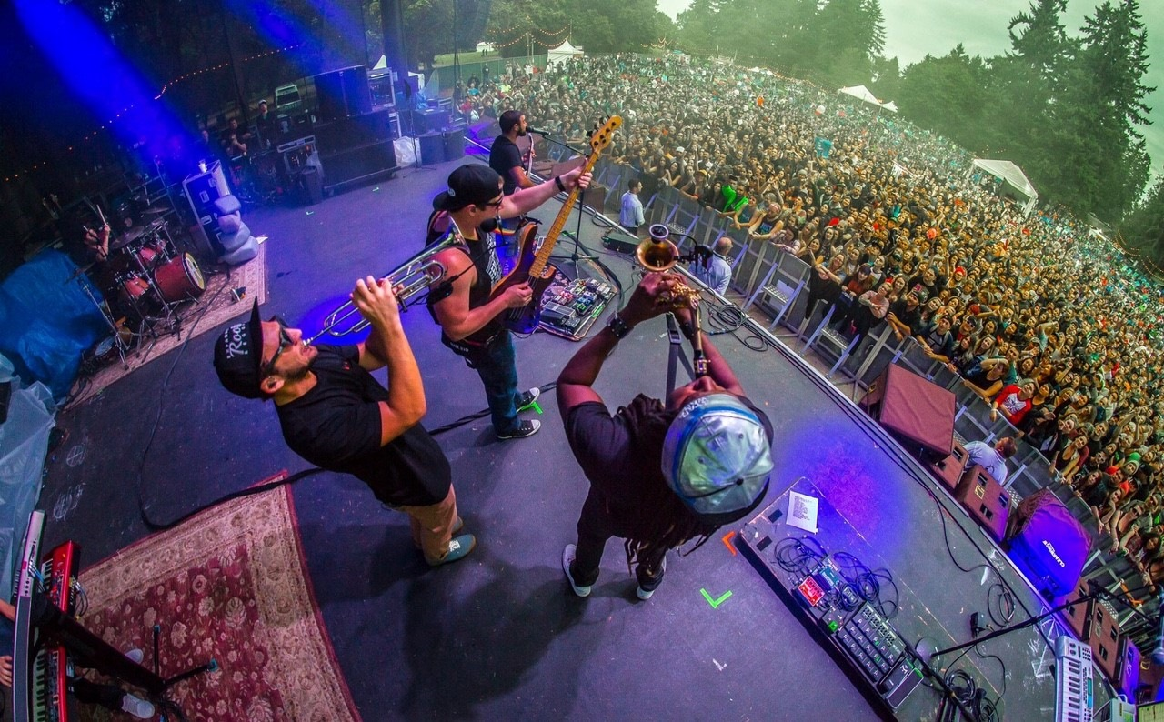 Rebelution [CANCELLED] at Jiffy Lube Live