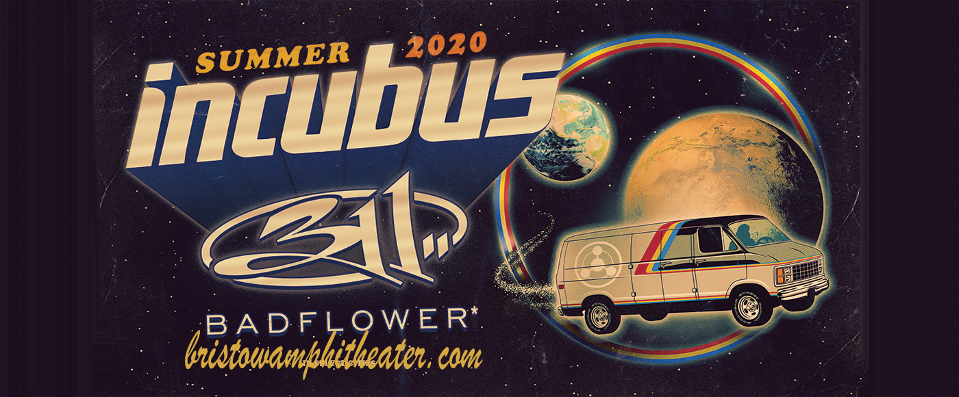 Incubus, 311 & Badflower [CANCELLED] at Jiffy Lube Live