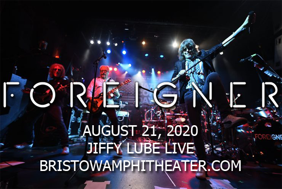 Foreigner, Kansas & Europe [CANCELLED] at Jiffy Lube Live