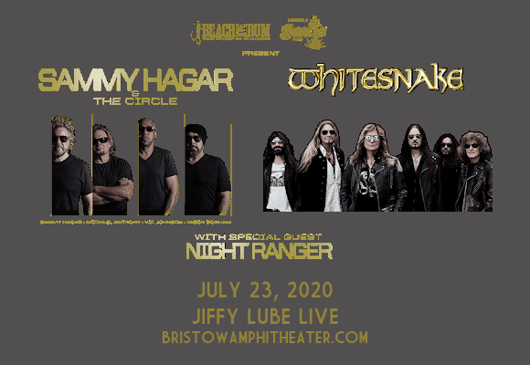 Sammy Hagar and the Circle & Whitesnake [CANCELLED] at Jiffy Lube Live