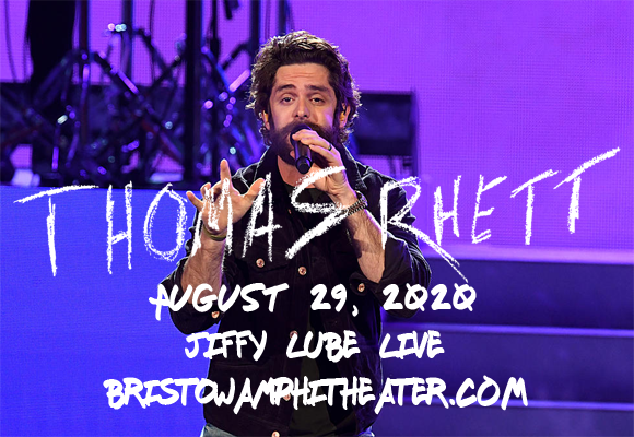 Thomas Rhett & Cole Swindell at Jiffy Lube Live