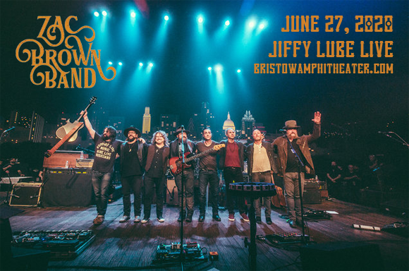 Zac Brown Band [CANCELLED] at Jiffy Lube Live