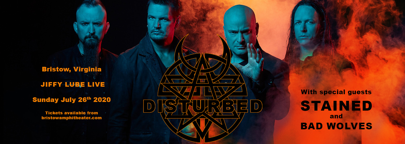 Disturbed, Staind & Bad Wolves at Jiffy Lube Live