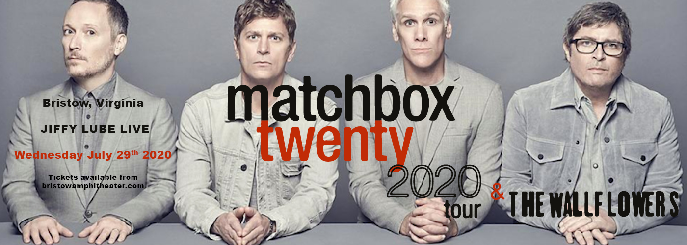 Matchbox Twenty & The Wallflowers at Jiffy Lube Live