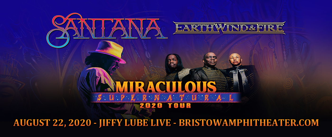 Santana & Earth, Wind and Fire at Jiffy Lube Live