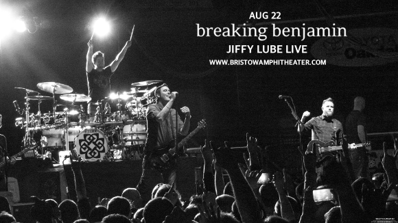 Breaking Benjamin at Jiffy Lube Live