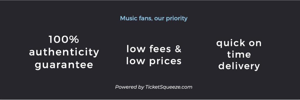 Jiffy Lube Live ticket benefits