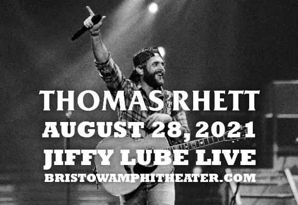 Thomas Rhett & Cole Swindell at Jiffy Lube Live