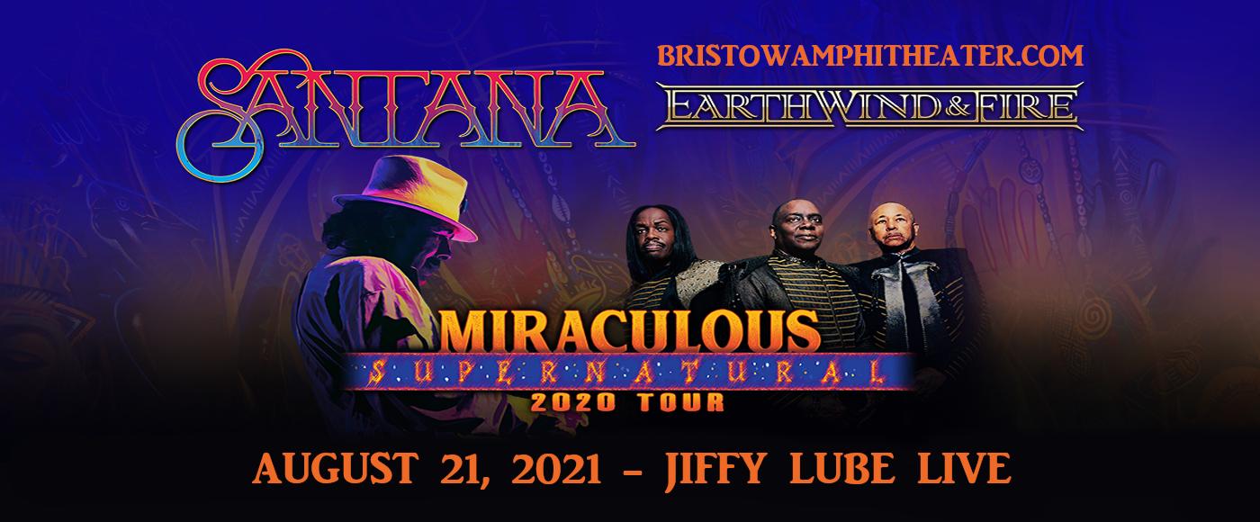 Santana & Earth, Wind and Fire at Jiffy Lube Live