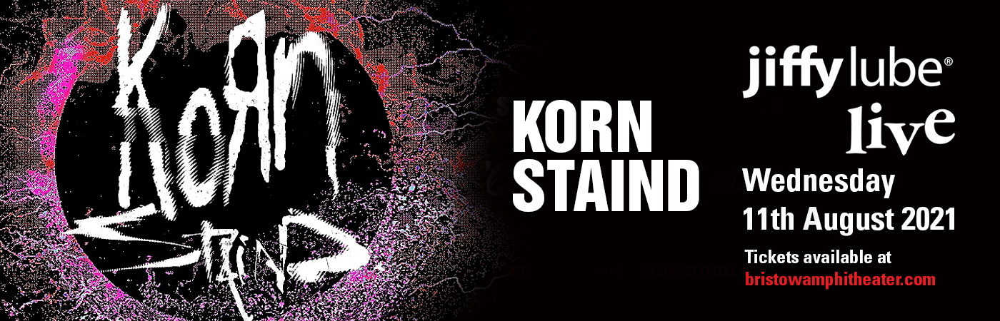 Korn & Staind at Jiffy Lube Live